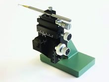 Three axis micro-manipulators